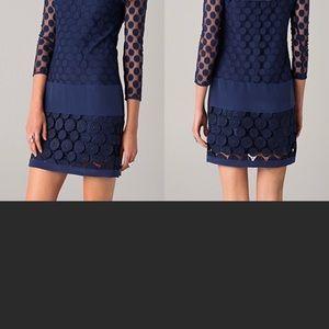 Diane Von Navy Dress